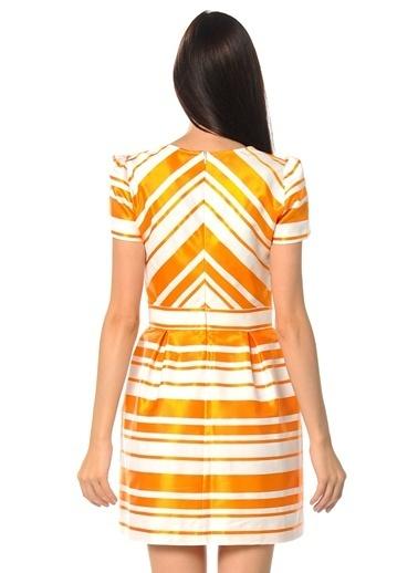 Kiwe Elbise Oranj